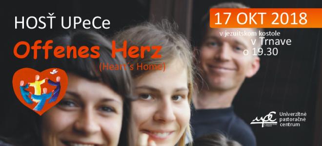 HOSŤ - Heart´s Home 17 okt 2018