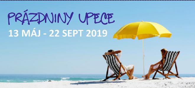 Prázdniny UPeCe LETO 2019