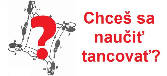 Chceš sa naučiť tancovať?