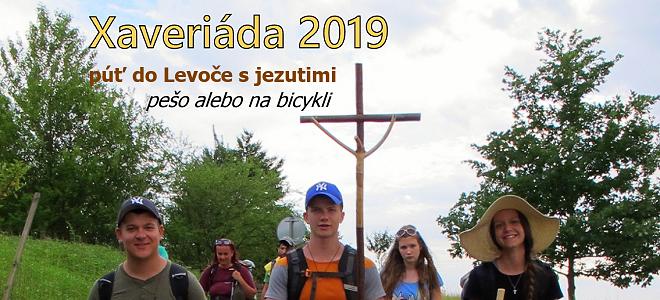 Putuj s jezuitmi - Xaveriáda 2019